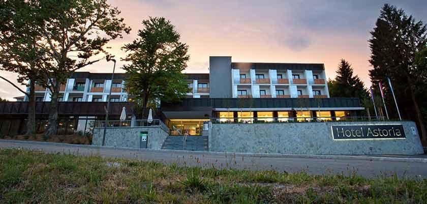 Hotel Astoria, Bled, Slovenia - Evening exterior 2.jpg